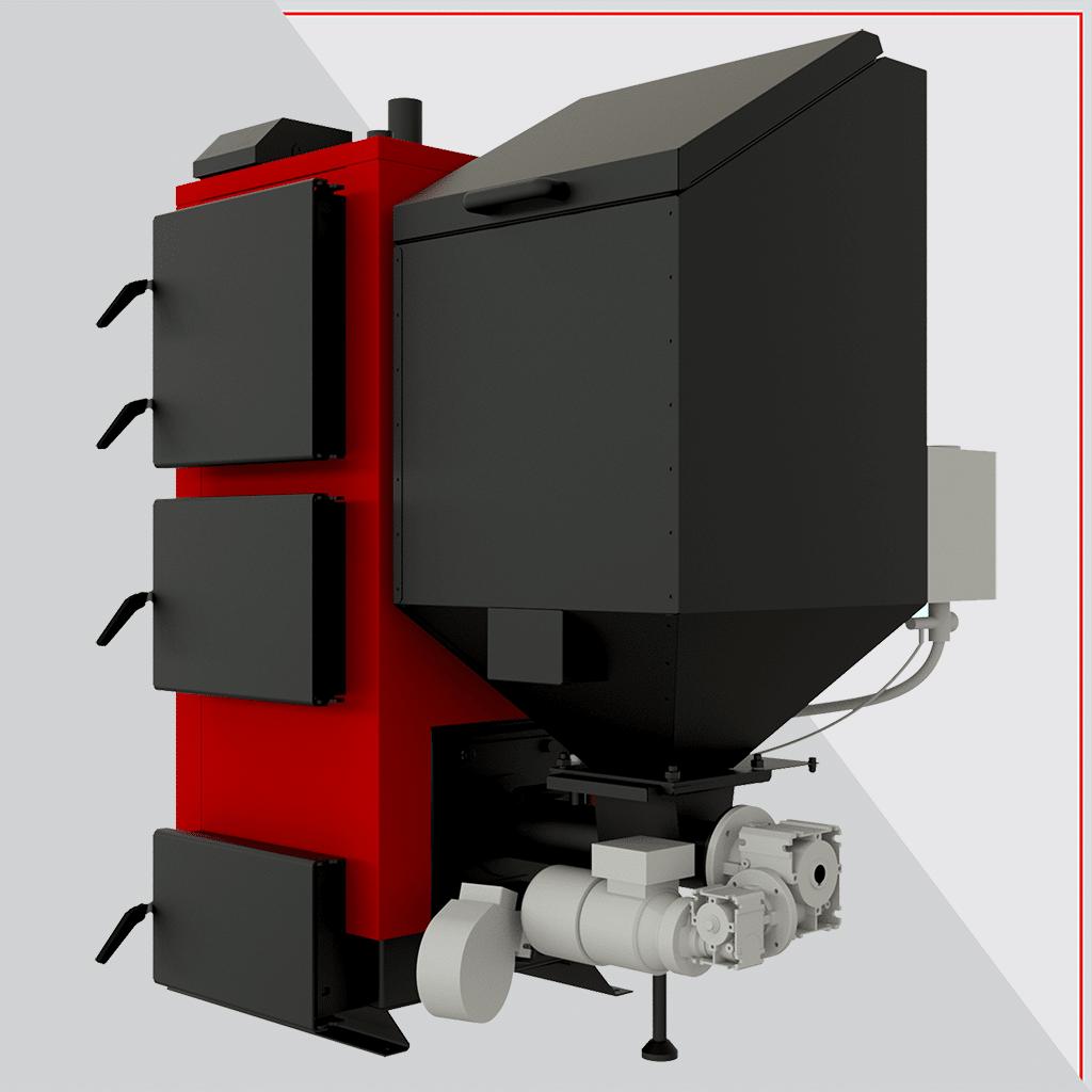 Котел твердотопливный Альтеп КТ-2Е-SH 75 кВт