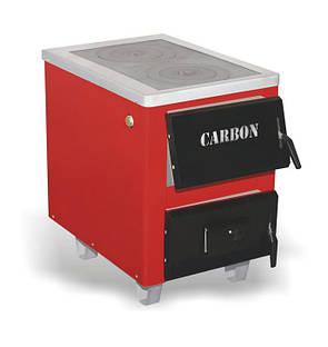 Твердотопливный котел с двойной плитой Carbon КСТО 17.5 кВт New (Карбон 17.5), фото 2