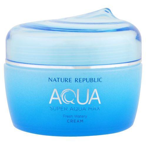 Крем для жирной кожи Nature Republic Super Aqua Max Fresh Watery Cream