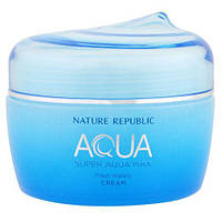 Крем для жирной кожи Nature Republic Super Aqua Max Fresh Watery Cream