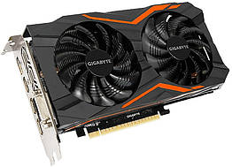 Gigabyte PCI-Ex GeForce GTX 1050 TI G1 Gaming 4GB GDDR5 128bit 1366 7008 DVI, 3 x HDMI, DisplayPo, КОД: 197257