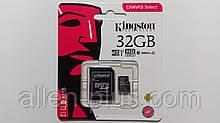 Карта пам'яті Kingston microSDHC Class 10, 32GB