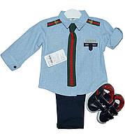 Костюм-тройка для мальчика праздничный,р.86-104 ,Турция