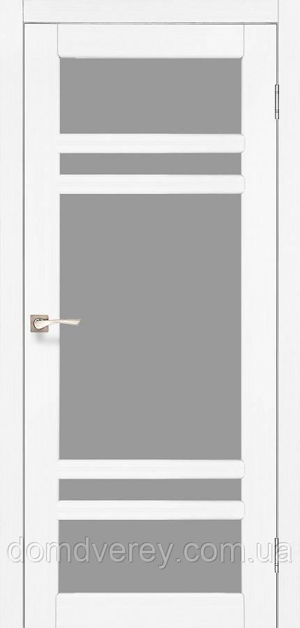 Двері міжкімнатні,Korfad, Tivoli, TV-06, зі склом сатин бронза