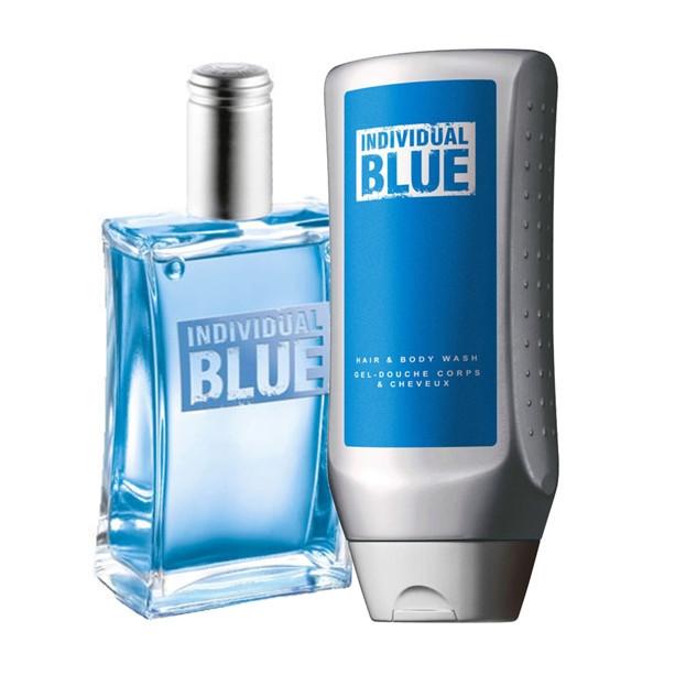 individual blue гель для душа