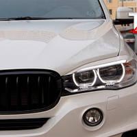 Реснички на фары BMW X6 в кузове F16 2014+ г.в., фото 1