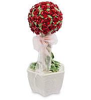 Музыкальная композиция Pavone Букет роз 25 см Красный, КОД: 177629