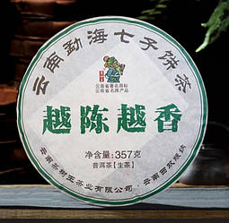 "Шен Пуэр ""Чен Юе Сян"" от Ча Шу Ван"