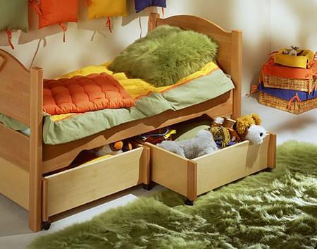 Кровать детская 140*70 с 2 ящиками