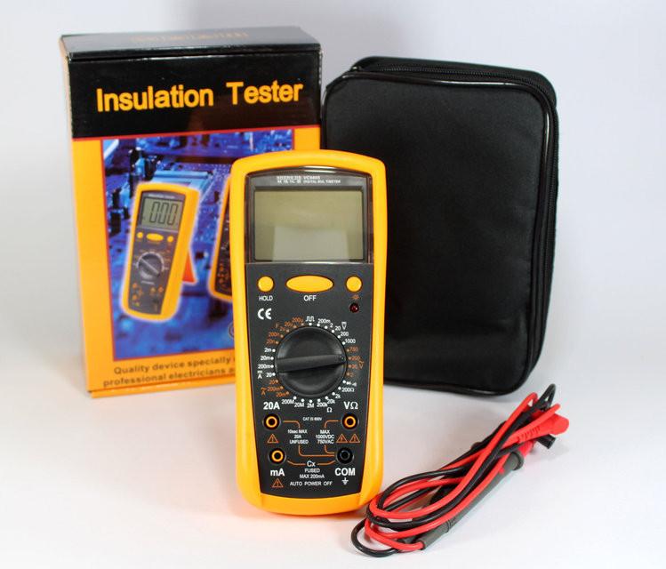 Тестер, цифровой мультиметр VC9805 PR4