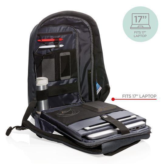 """Рюкзак для ноутбука 17"""" XD Design Bobby XL. Оригинал, Чёрный P705.561"""