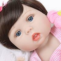 Кукла реборн 57 см полностью виниловая девочка Юлия
