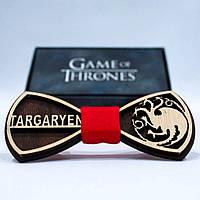 Эксклюзивный галстук-бабочка из дерева KRAGO Game of Thrones Targaryen KRG-01004, КОД: 187161