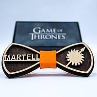 Эксклюзивный галстук-бабочка из дерева KRAGO Game of Thrones Martell KRG-01008, КОД: 187128