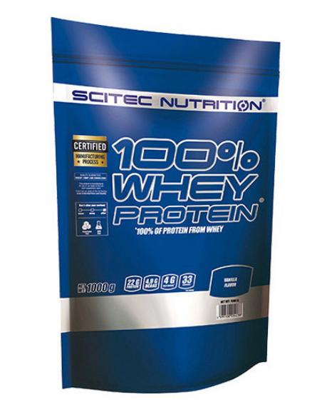 Протеин Scitec Nutrition 100% Whey Protein 1 kg