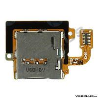Шлейф Samsung T585 Galaxy Tab A 10.1, с разъемом на sim карту