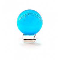 Голубой шар хрустальный на подставке