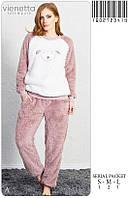 Теплая пушистая пижама  Vienetta Secret 3419