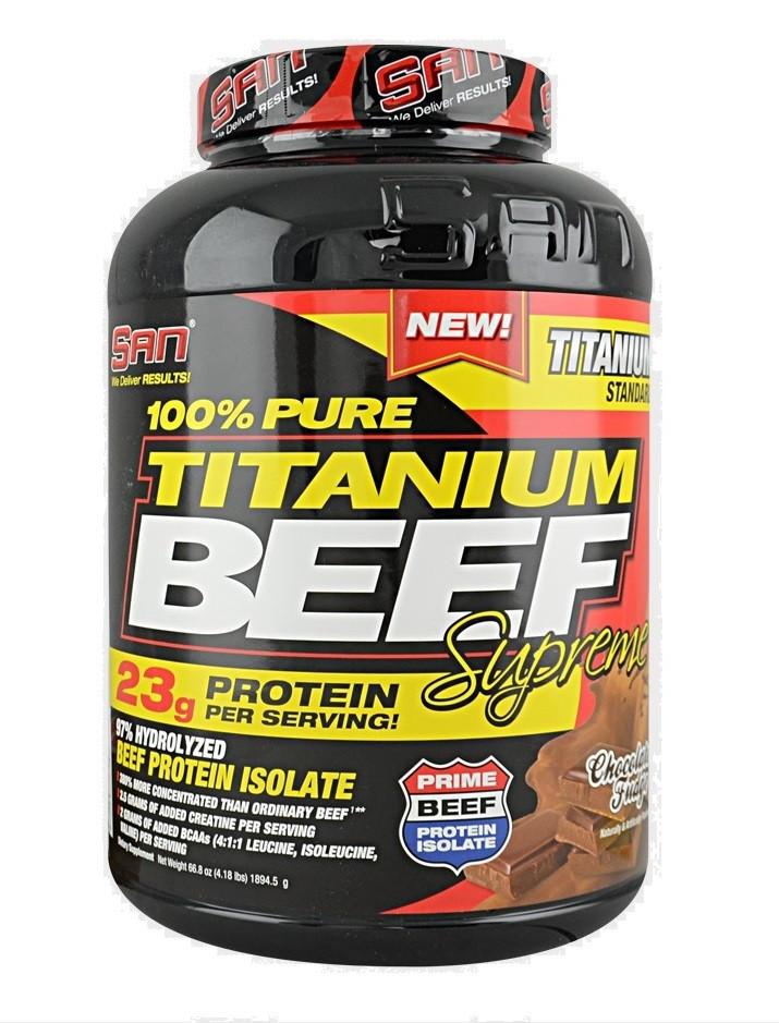 Протеин SAN 100% Pure Titanium Beef Supreme 1,83 kg