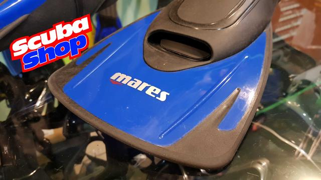 Ласты Mares Hermes тренировочные с короткими лопастями (синие)