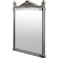 Зеркало в ретро стиле для ванной 55x75 хром Burlington Georgian T37 ALU