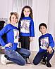 "Реглан для девочки "" Зебра 3D"" фэмили лук для всей семьи от 6 до 10 лет(116;122;128;134;140), фото 3"