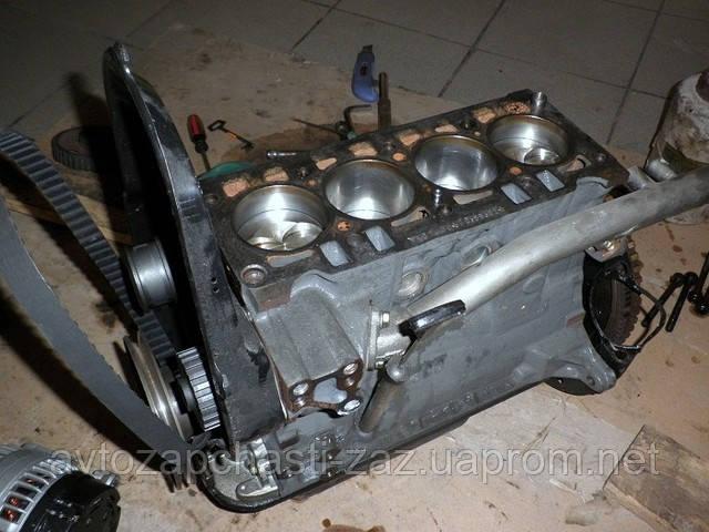 Блок цилиндров 307-1002010 ПЕНёК Блок двигателя МеМЗ-307 в полном сборе Sens 1300 куб.см СЕНС 1.3л без поддона