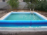 Чаша бассейна 10х5х1,5