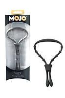 Эрекционное кольцо Mojo Vigor Cock Ring Black