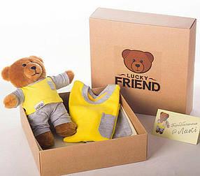 Комплект Lucky Friend пижамка и мишка 146 см 10-11 лет 2mafi5, КОД: 263271