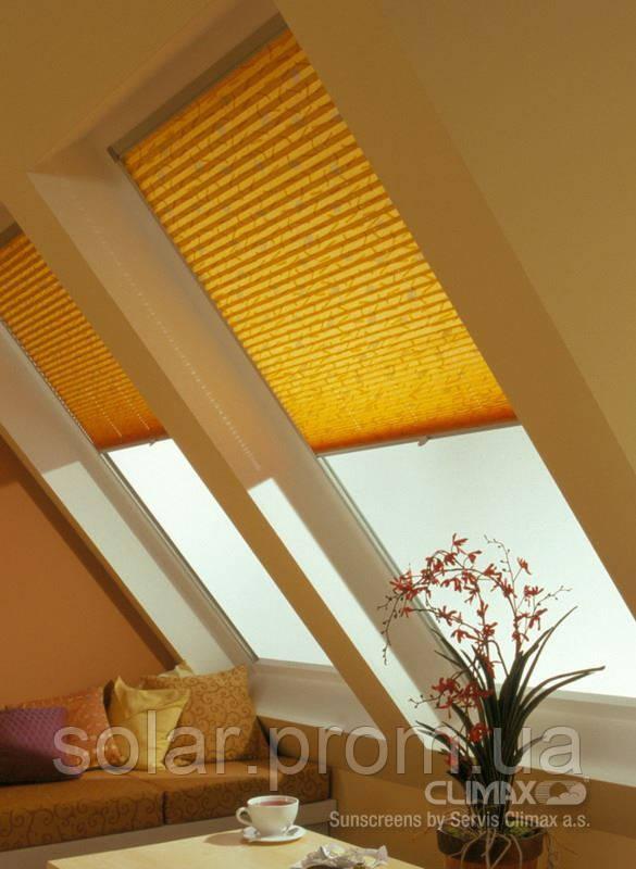 Тканевые ролеты на мансардное окно в крыше velux и roto - SOLAR  жалюзи роллеты и оконные конструкции      в Сумах