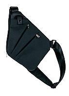 Мужская сумка Valenta через плечо 28х22х2 см Черный, КОД: 153324