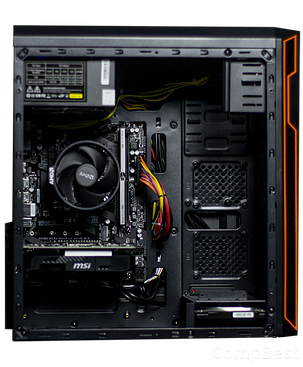Frontier HAN SOLO orange MT / AMD Ryzen™ 7 1700 (8 (16) ядер по 3.0 - 3.7 GHz) / 16 GB DDR4 / 120GB SSD+1000 GB HDD / GeForce GTX 1060 (6 GB GDDR5 192, фото 2