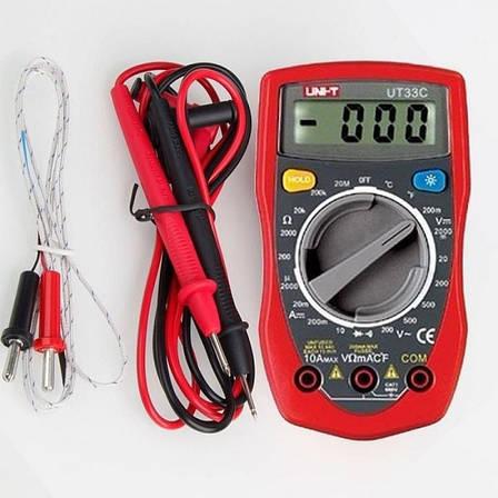 Мультиметр DT UT33C многофункциональный цифровой тестер измерение тока напряжения сопротивления PR3, фото 2