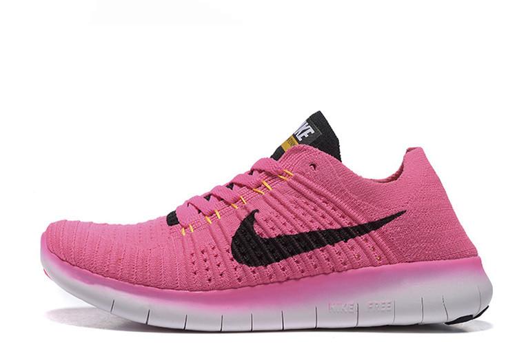 a345cee5 Женские кроссовки Nike Free Run Flyknit 5.0 Pink размер 38 Розовый  UaDrop115295-38, КОД