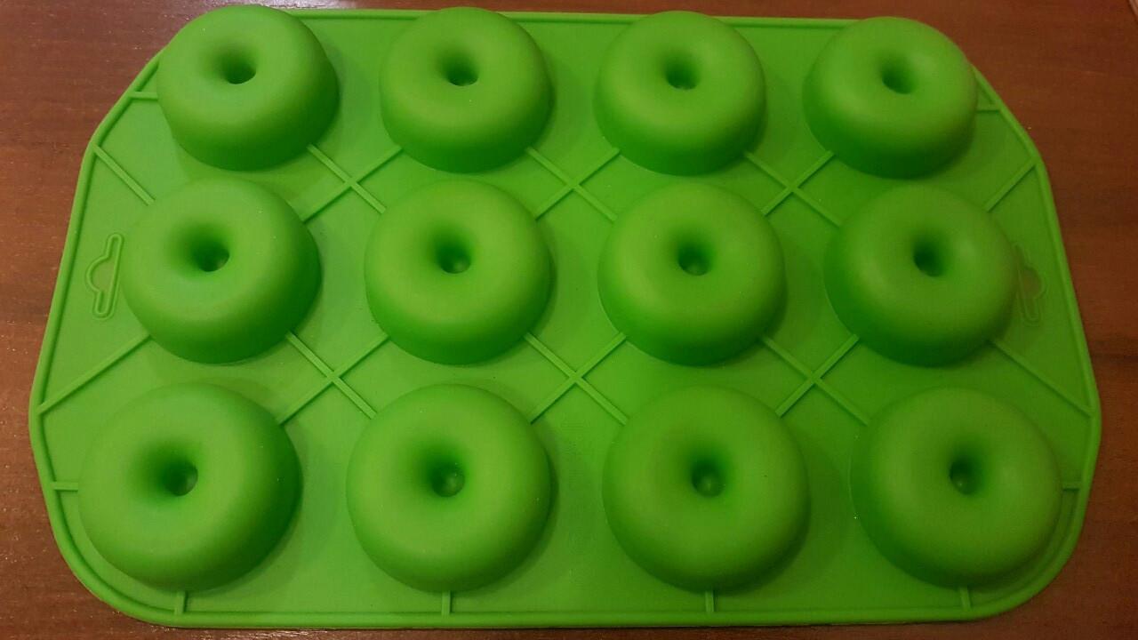 Форма силиконовая Пончик 2