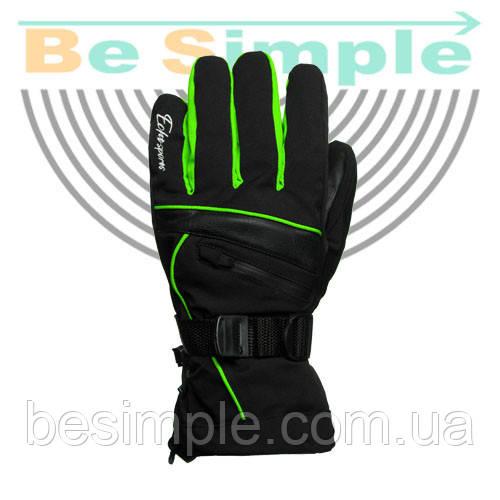 Перчатки горнолыжные ECHT (3 цвета на выбор)
