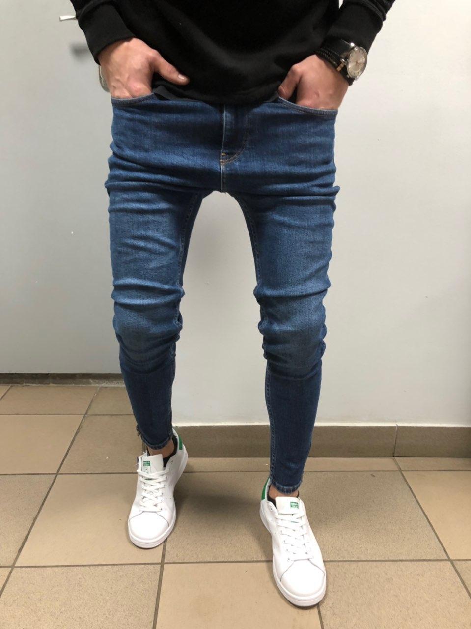 😝 Джинсы - Мужские узкие джинсы