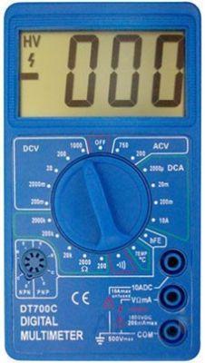 Мультиметр универсальный TS 700 C (2 сорт) PR2