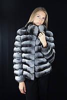 Шуба Полушубок из натуральной шиншиллы Natural chinchilla fur coats jackets