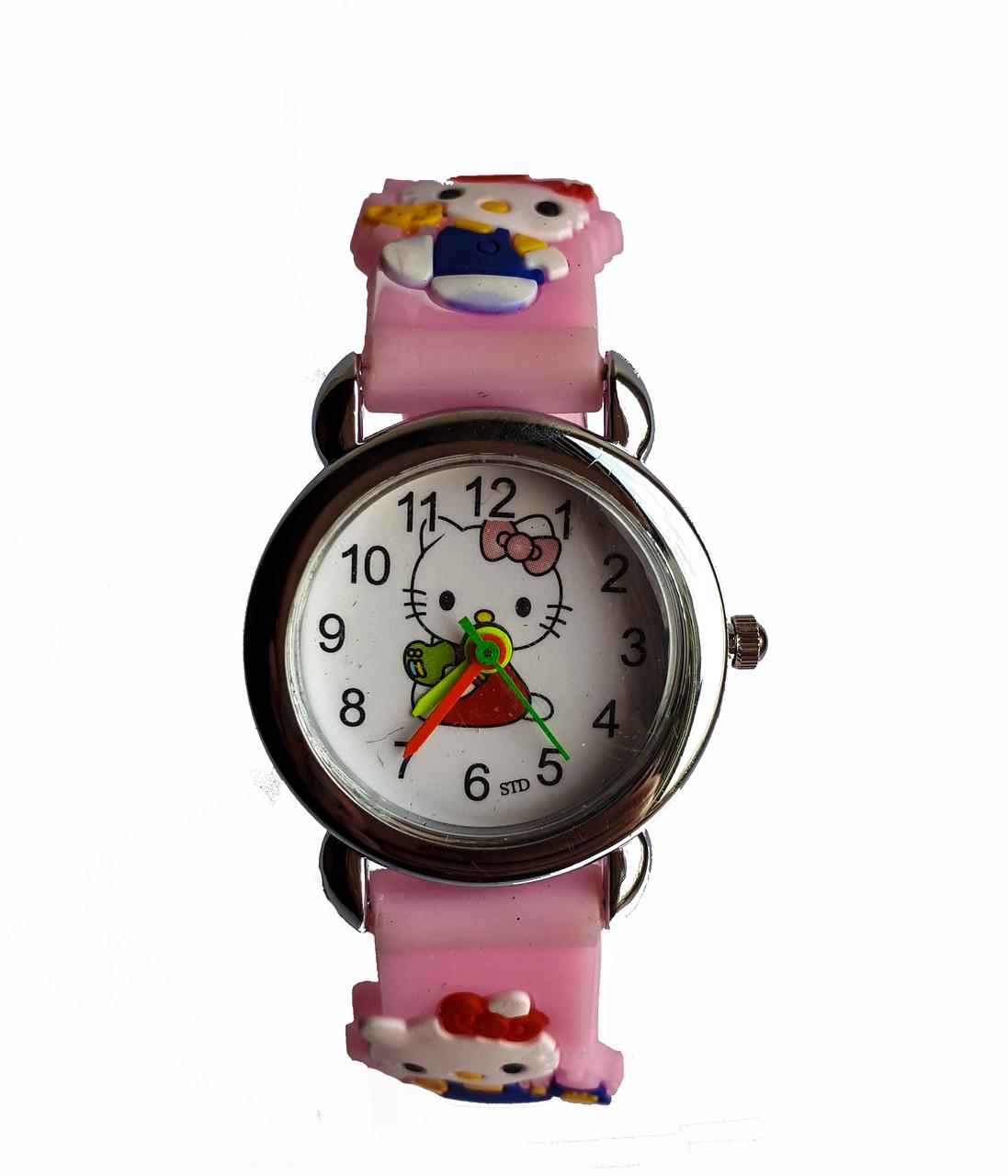 Часы Детские Hello Kitty HK-180 Розовые — в Категории