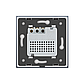 Терморегулятор сенсорный Livolo для водяных систем отопления цвет серый (VL-C701TM-15), фото 4