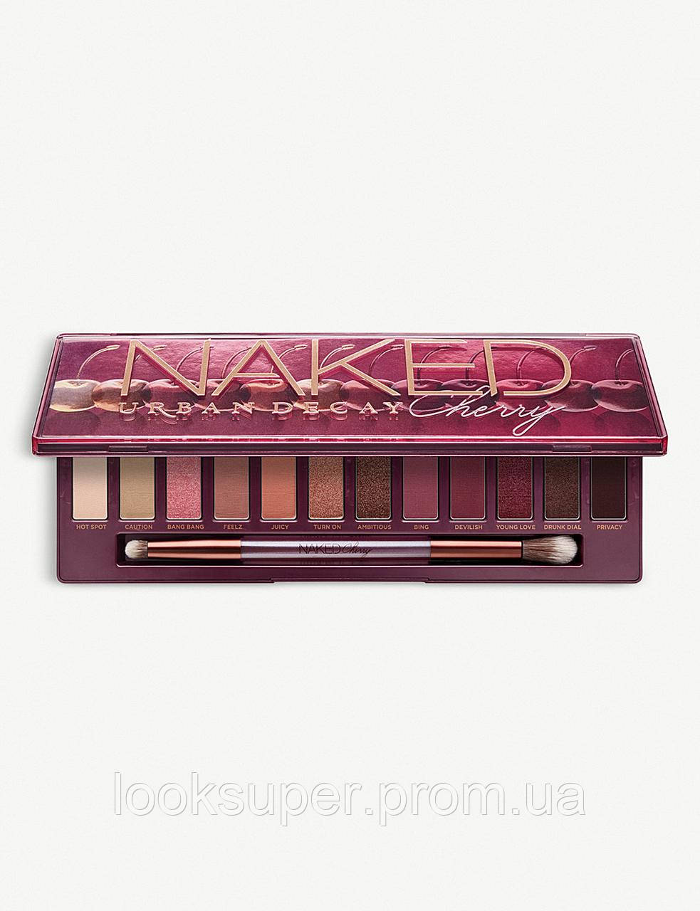 Палетка теней URBAN DECAY Naked Cherry Palette