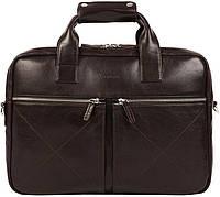 e3c3ec66f988 Мужская деловая сумка для ноутбука Ray Button HANNOVER DARK BROWN темно- коричневая