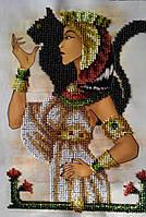 """Картина из бисера """"Египтянка"""" (ручная работа)"""