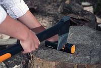 Топор-колун Fiskars L-Х21 (1015642/122473) + точилка 120740 для топоров и ножей