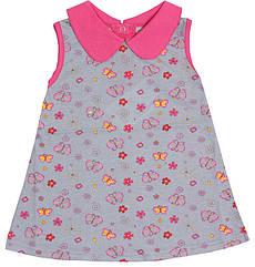 Платье Valeri-Tex 1804-99-024-027 80 см Серый, КОД: 261855