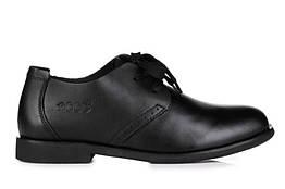 Мужские туфли Cesual Derby Black размер 42 116919-42, КОД: 237516