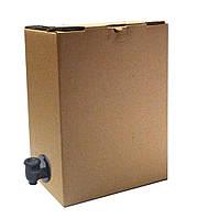 Коробка 5 литров  Bag in box Боковой кран