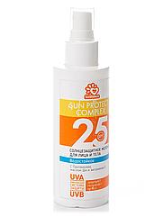 Солнцезащитное водостойкое молочко Solbianca 25 Spf для лица и тела 150 мл 8871, КОД: 294079